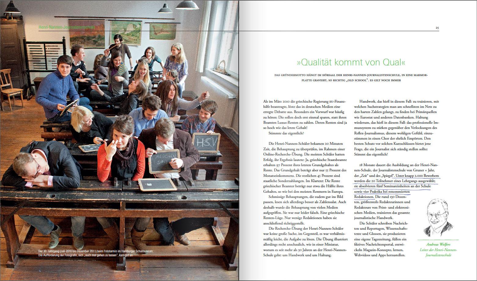 Gruner+Jahr Annual Report