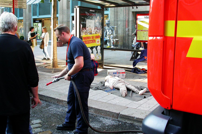 Fire brigade safety drill