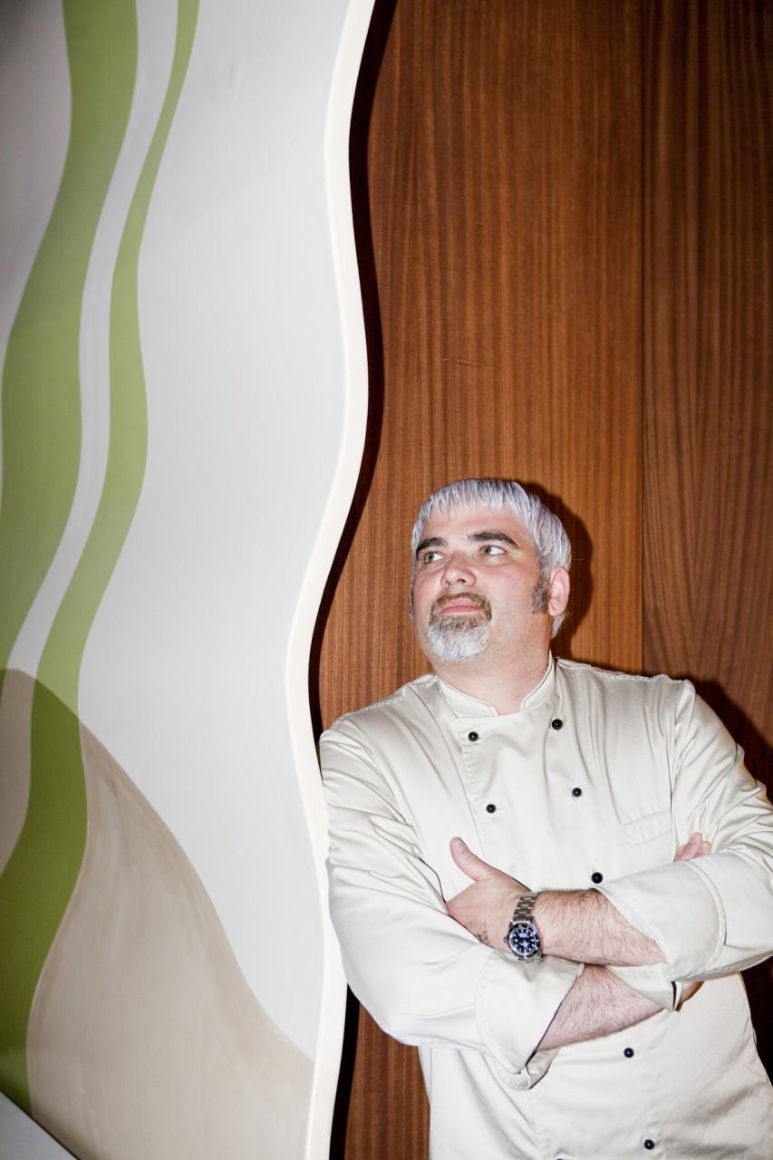 Restaurant-Chef und Avantgardekoch Cristiano Rienzner