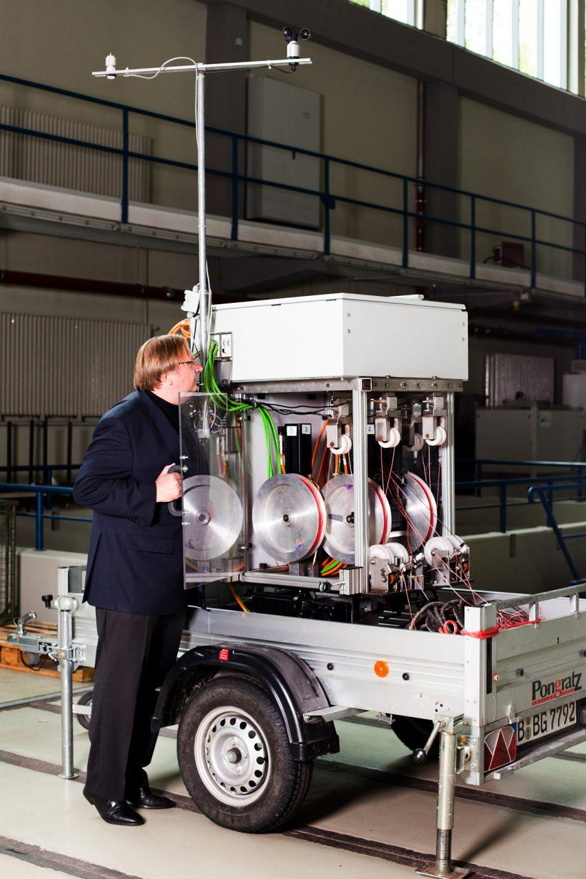 Uwe Ahrend, Geschäftsführer der NTS GmbH, für 'Impulse'