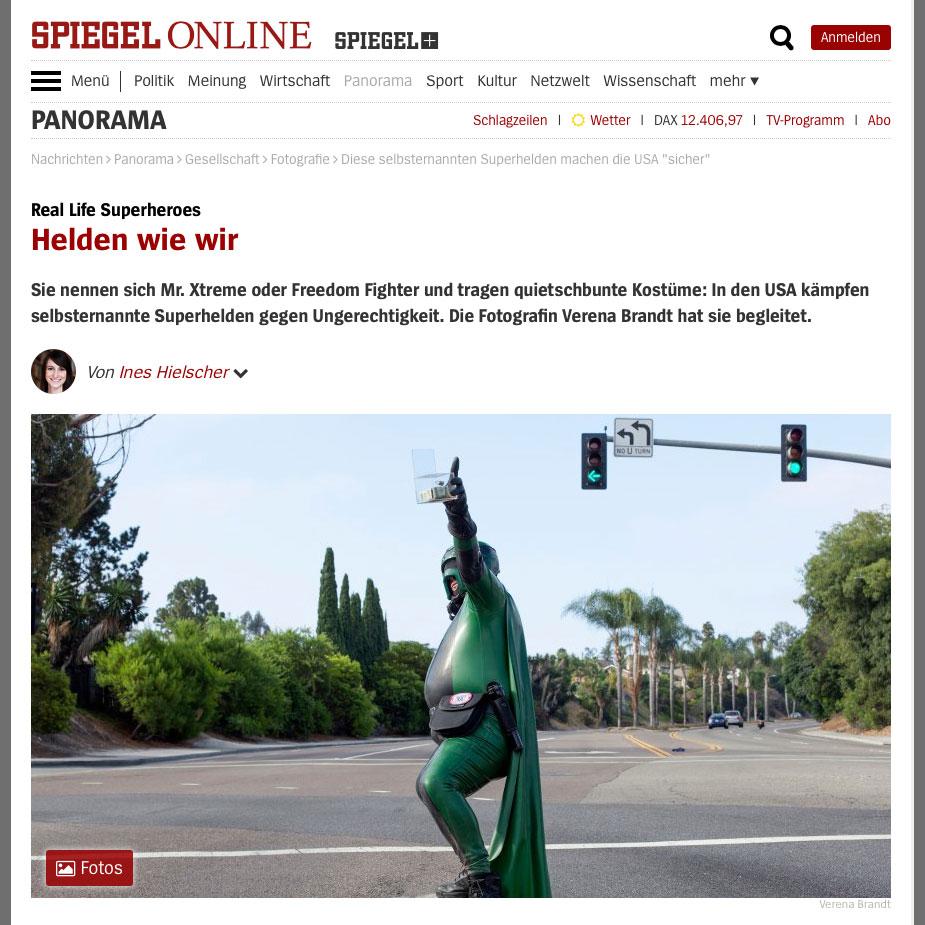 Superheroize Me on Spiegel Online