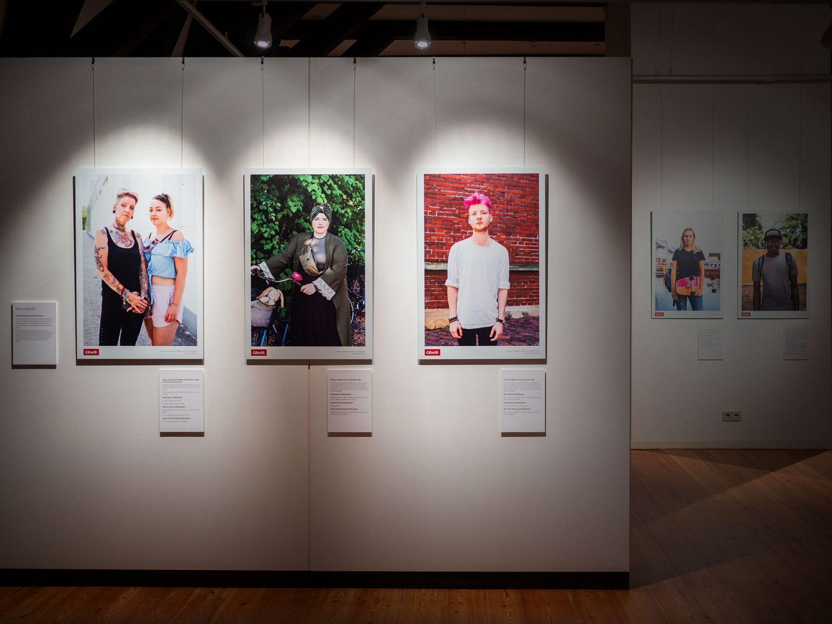 Portraits, Echt Oldenburg, Landesmuseum für Kunst und Kulturgeschichte Oldenburg, 2018