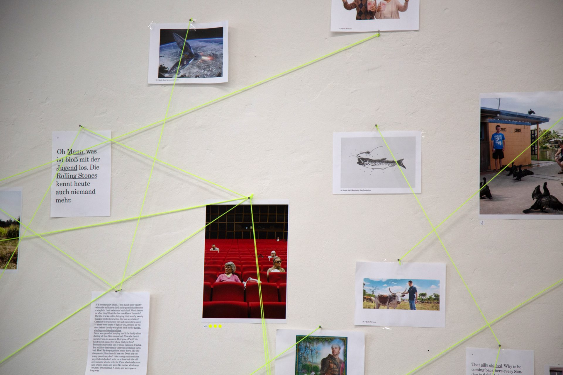 """Stiller Post"", 48 Stunden Neukölln Art Festival, Berlin, 2019"