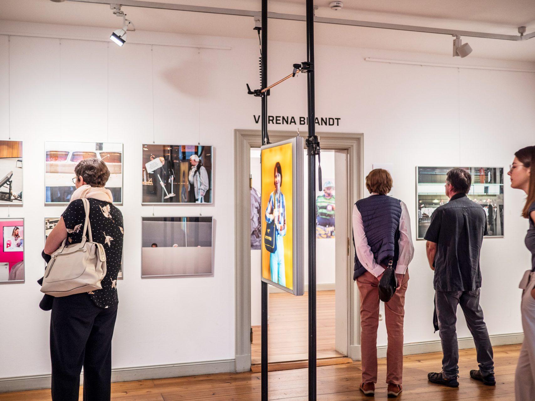 """Auslöser Photo festival, """"Villa Germania"""", """"Dividendenbuffet"""" and """"Villa Germania"""", Schleswig-Holstein-Haus, Schwerin, 2019"""